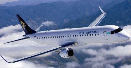 Авиабилеты авиакомпании Air Astana (Казахстан): продажа и доставка