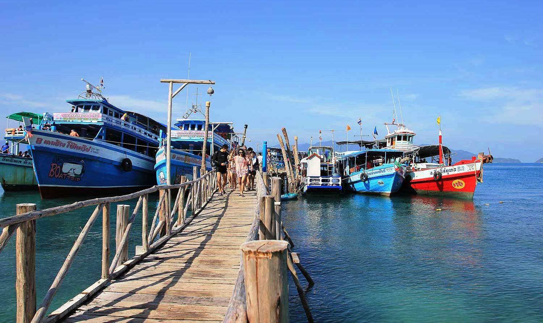 Доехать до острова Ко Вай (Koh Wai)