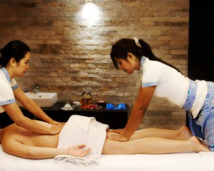Эротический тайский боди массаж