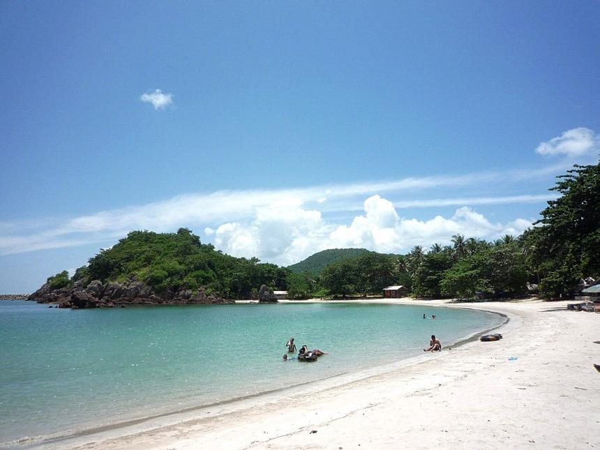 Коралловый остров, пляж Тхонг-Ланг