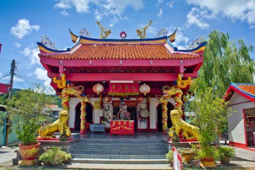 Святыня Чао По на острове Ко Чанг