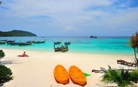 Пляжи острова Ко Липе с белоснежным песком