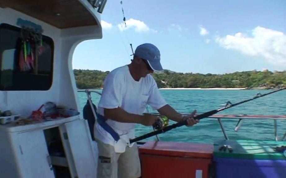 Морская рыбалка в Тайланде на острове Пхукет