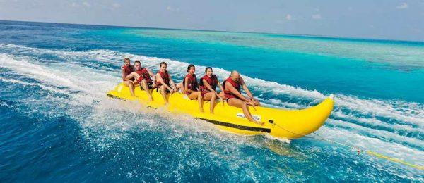Развлечения на Мальдивах - видсерфинг, парасейлинг и дайвинг