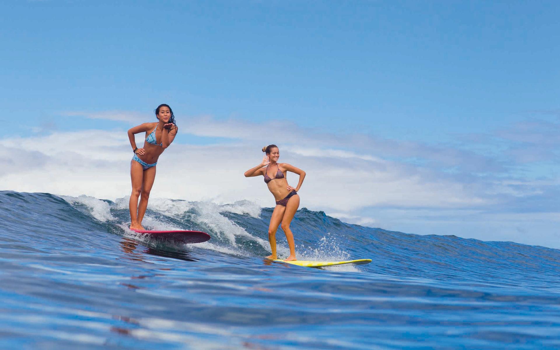 Серфинг на Мальдивах, самые популярные места для серфинга
