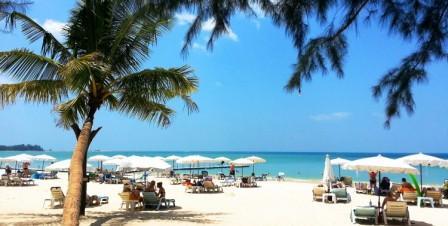 Море в Тайланде в сентябре