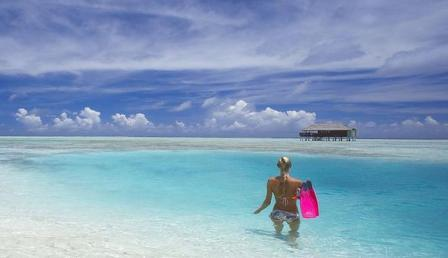 Поездка зимой на Мальдивы