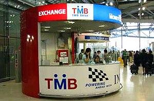 Обменные пункты валюты в Тайланде