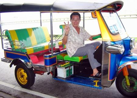 Тук-тук в Тайланде - что это такое за транспорт