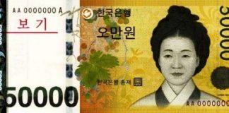 Денежная единица Кореи вона