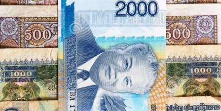 Денежная единица Лаоса - курсы по обмену валют