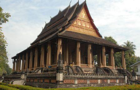 Храм Изумрудного Будды во Вьентьяне