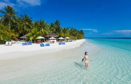 Температура воды и воздуха на Мальдивах в июле