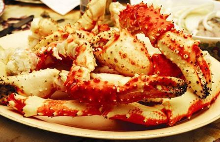 Морепродукты Тайланда крабы