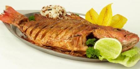 Морепродукты Тайланда рыба