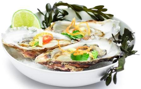 Морепродукты Тайланда устрицы