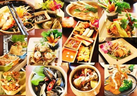 Морепродукты Тайланда: креветки, кальмары, рыба