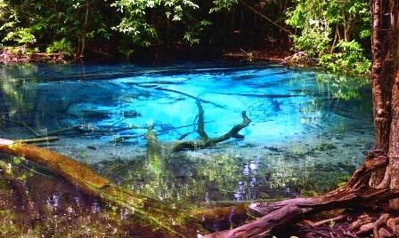 Голубое озеро Краби или изумрудная сказка наяву