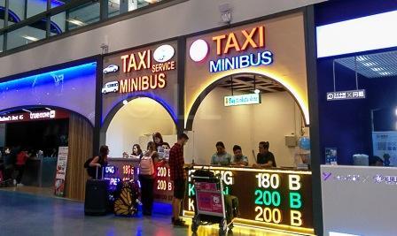 Как заказать такси из аэропорта Пхукет
