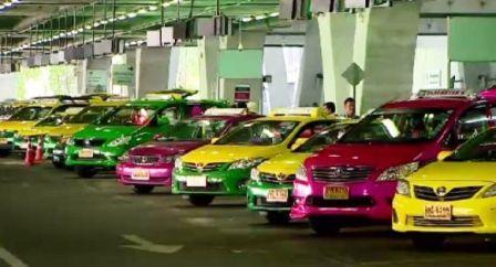 Почему у такси разные цвета