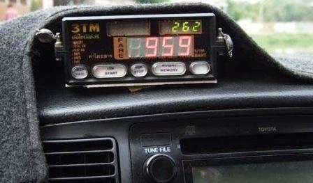 Расстояния по таксометру