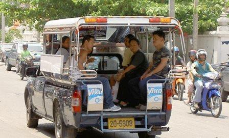 Сонгтео такси (Songthaew)