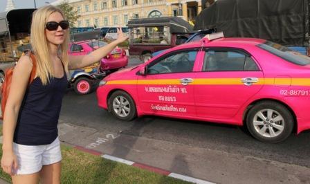Как остановить такси на улицах Тайланда