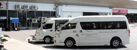 Микроавтобус из Бангкока в Паттайю