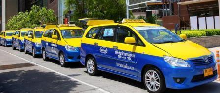 Такси в Паттайю из Бангкока
